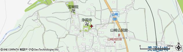 岐阜県海津市南濃町山崎周辺の地図