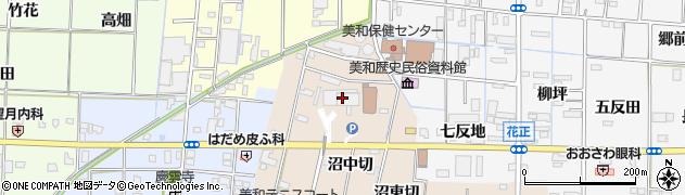 愛知県あま市周辺の地図