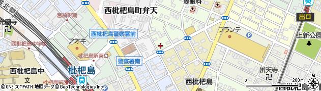 まごころ弁当 清須店周辺の地図
