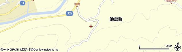 愛知県豊田市池島町(山口)周辺の地図