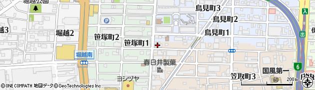 椿庵周辺の地図