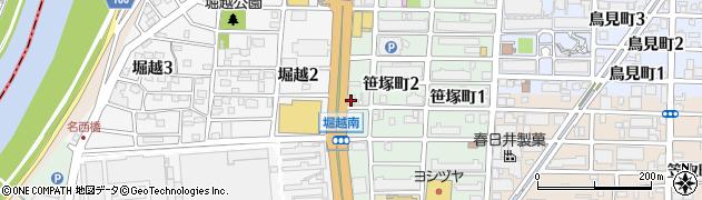 笹塚小規模作業所周辺の地図