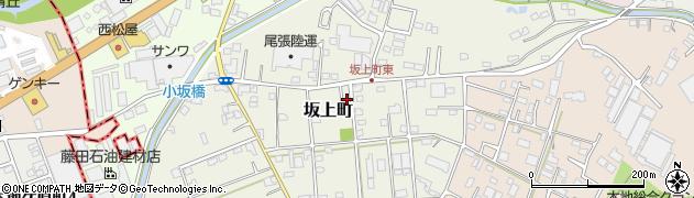 愛知県瀬戸市坂上町周辺の地図