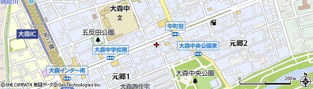 てんちょーの店周辺の地図