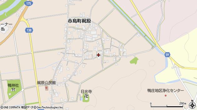 〒669-4323 兵庫県丹波市市島町梶原の地図
