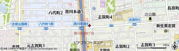 大潮屋志賀店周辺の地図
