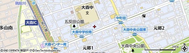 ピザーラ守山店周辺の地図