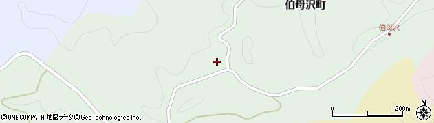 愛知県豊田市伯母沢町(高見)周辺の地図