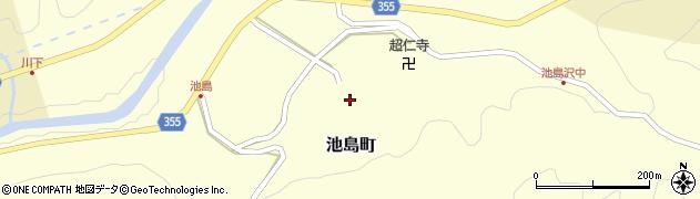 愛知県豊田市池島町(砥屋)周辺の地図