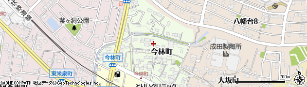 愛知県瀬戸市今林町周辺の地図