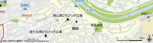 愛知県尾張旭市長坂町周辺の地図