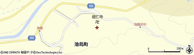 超仁寺周辺の地図