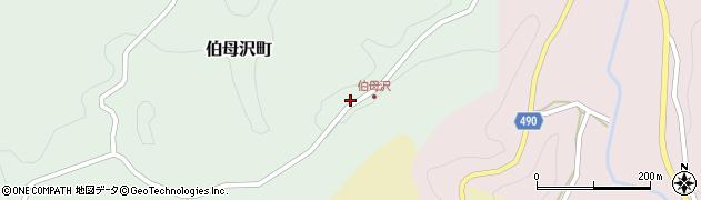 愛知県豊田市伯母沢町(桜坪)周辺の地図