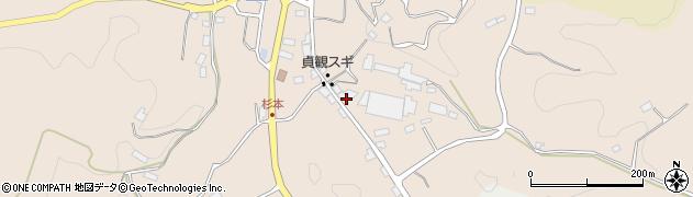 愛知県豊田市杉本町(堂貝戸)周辺の地図