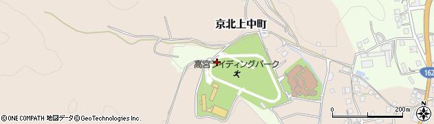 京都府京都市右京区京北上弓削町(向山田)周辺の地図