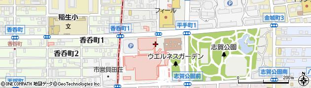 愛知県名古屋市北区平手町周辺の地図