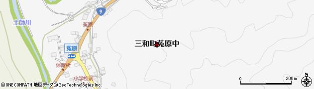 京都府福知山市三和町菟原中周辺の地図