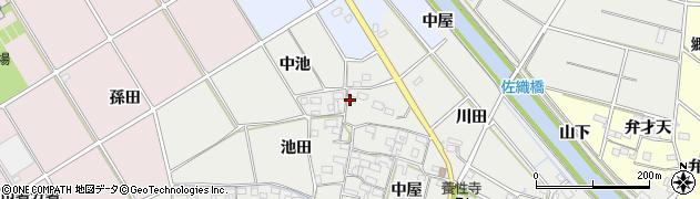 そば処・日向周辺の地図