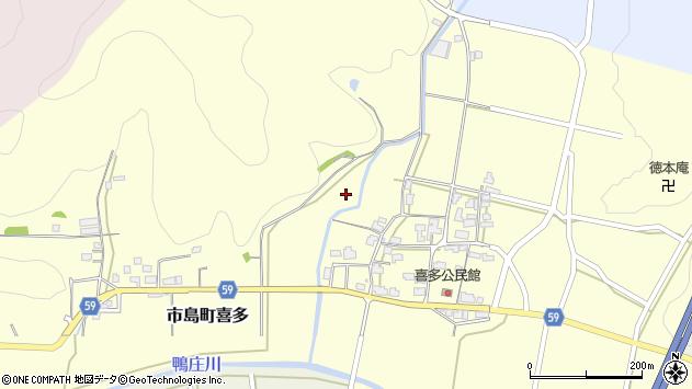 〒669-4315 兵庫県丹波市市島町喜多の地図