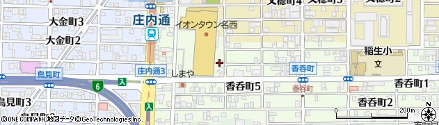 ベントマン全国FC本部周辺の地図