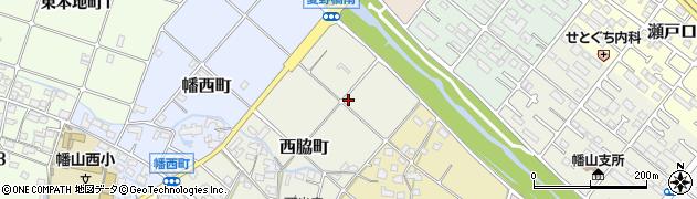 愛知県瀬戸市西脇町周辺の地図