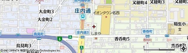 DERICH周辺の地図