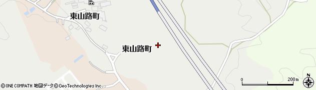愛知県瀬戸市東山路町周辺の地図