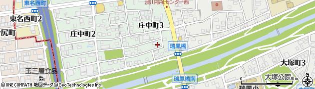 愛知県尾張旭市庄中町(南島)周辺の地図