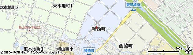 愛知県瀬戸市幡西町周辺の地図