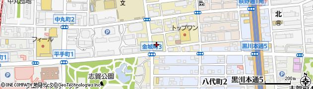 サガミ 志賀公園店周辺の地図