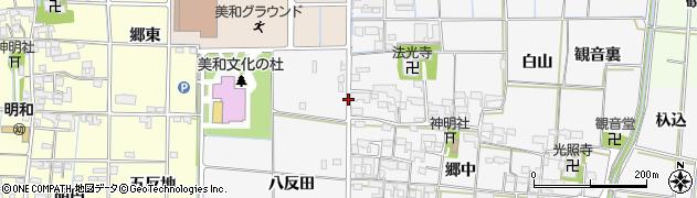 愛知県あま市花正(戌亥出)周辺の地図