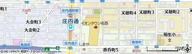ふつふつや周辺の地図