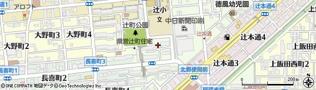 カツ丼一本道万吉周辺の地図