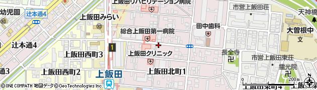 川正周辺の地図