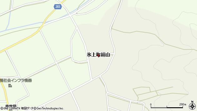 〒669-3641 兵庫県丹波市氷上町絹山の地図