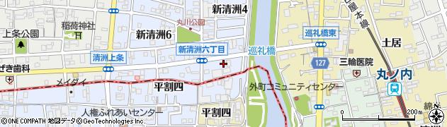 巡礼橋周辺の地図