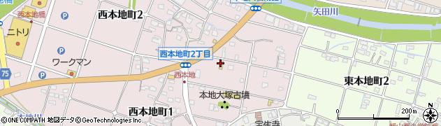 シャトレーゼ瀬港店周辺の地図