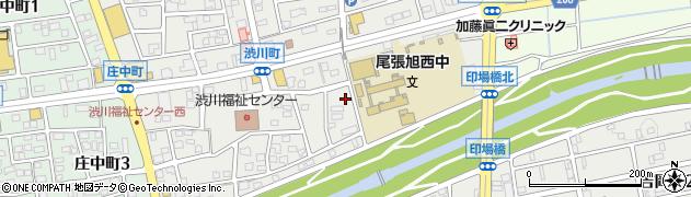 直会神社周辺の地図
