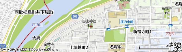 愛知県名古屋市西区堀越町周辺の地図