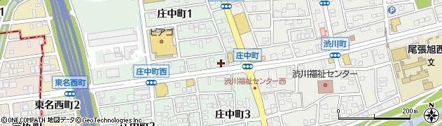 キャッツカフェ尾張旭店周辺の地図