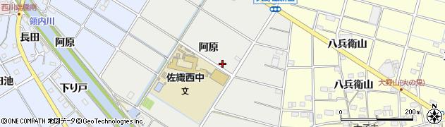 愛知県愛西市草平町周辺の地図