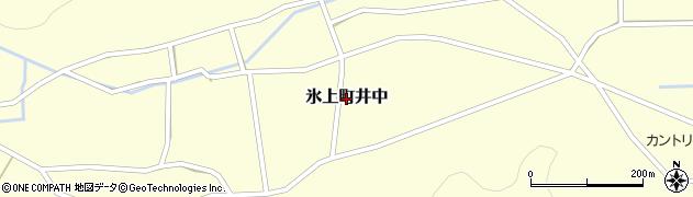 兵庫県丹波市氷上町井中周辺の地図