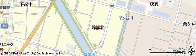 愛知県稲沢市平和町(嫁振北)周辺の地図