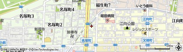あさひ周辺の地図
