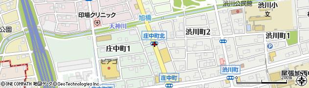 庄中町北周辺の地図