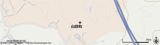 愛知県瀬戸市山路町周辺の地図