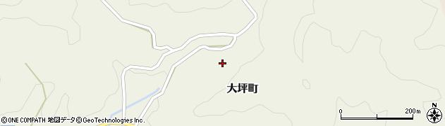 愛知県豊田市大坪町(東)周辺の地図