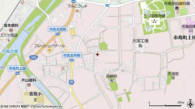 〒669-4322 兵庫県丹波市市島町上田の地図