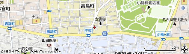 純周辺の地図