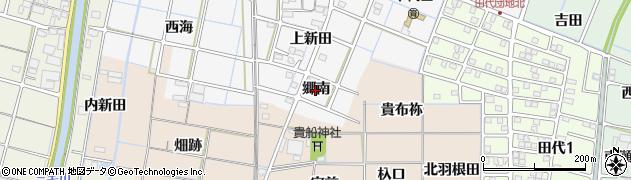 愛知県稲沢市坂田町(郷南)周辺の地図